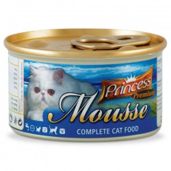 Princess Mousse Ryby Oceaniczne 85g