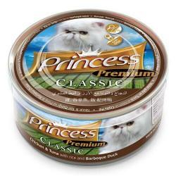Princess Premium Kurczak Tuńczyk Kaczka BBQ 170g