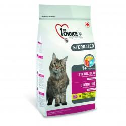 1st Choice Cat Sterilized BEZ ZBÓŻ 10kg