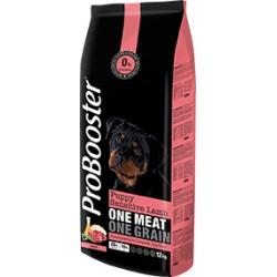 Karma dla szczeniąt  ProBooster Puppy Sensitive Lamb 12kg