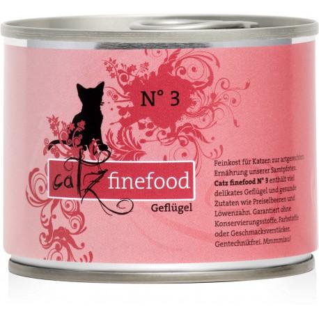 Catz finefood No.3 drób 200g