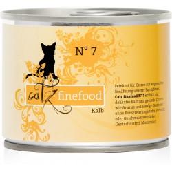 Catz Finefood Nr.7 Kalbland 200g
