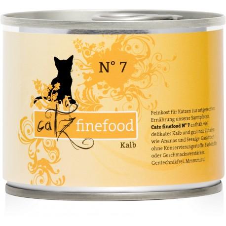 Catz finefood No.7 cielęcina 200g