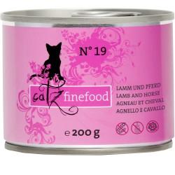 Catz Finefood Nr.19 Lamm & Pferdemehl 200g