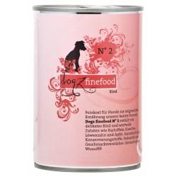 Dogz finefood No.2 wołowina 400g