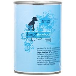 Dogz Finefood Nr.12 Spiel & Hering 400g
