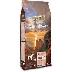 Prince Geschmack der Natur - Trockenfutter für erwachsene Hunde und Welpen kleiner Rassen mit Truthahn mit Süßkartoffeln 12 kg