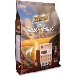 Prince Taste of Nature - Trockenfutter für erwachsene Hunde und Welpen kleiner Rassen mit Truthahn mit Süßkartoffeln 4 kg