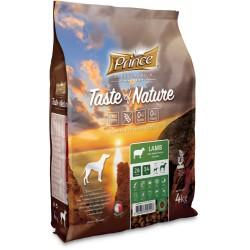 Prince Geschmack der Natur - Trockenfutter für erwachsene Hunde und Welpen mittlerer und großer Rassen mit Lamm und Süßkartoffel
