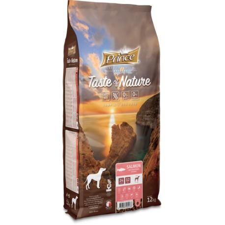 Prince Taste of Nature  karma sucha dla psów dorosłych, łosoś z batatami 12kg