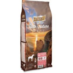 Prince Geschmack der Natur Trockenfutter für erwachsene Hunde, Lachs mit 4kg Süßkartoffeln
