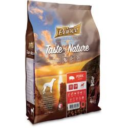 Prince Geschmack der Natur - Trockenfutter ohne Getreide für erwachsene Hunde aller Rassen mit Schweinefleisch 4 kg