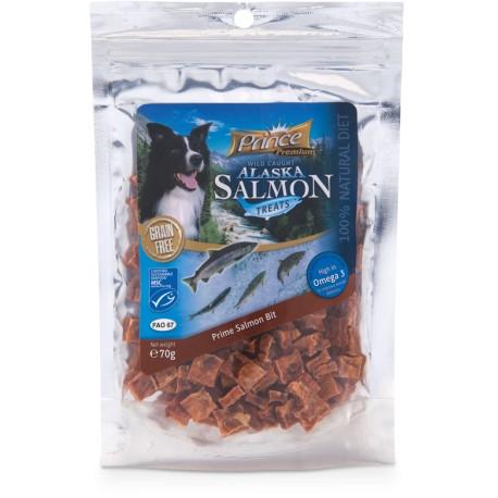 PRINCE Prime przysmaki dla psa z łososia Salmon Bit 70g