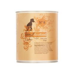 Dogz Finefood Nr. 8 – Pute und Ziege 800g