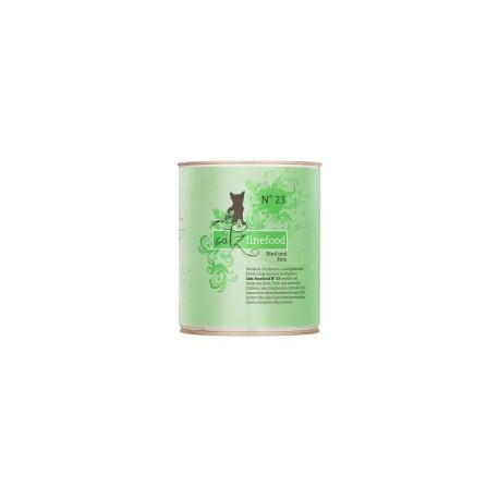 Catz finefood No 23   wołowina & kaczka  800g