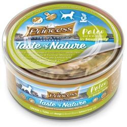 Princess Paleo Chicken Tuna Mango braun Reis in Spinatbrühe 170g BIS 99% MEAT!!