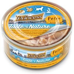 Princess Paleo Chicken Thunfisch Ananas braun Reis in Kürbisbrühe 170g BIS 99% MEAT!!