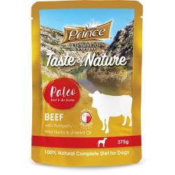 Prince Paleo Sachet Rindfleisch Kürbis 375g BIS 99% MEAT!!