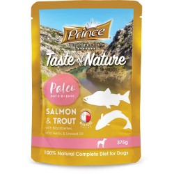Prince Paleo Lachs Sachet Forelle 375g BIS 99% MEAT!!!