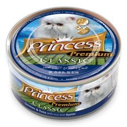 Princess Premium Kurczak Tuńczyk Ostrygi  170g