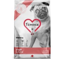 1st choice Dog Vet Derma getreidefreies Trockenfutter für erwachsene Hunde mit Allergien 12kg