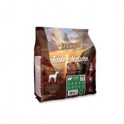 Prince Taste of Nature - karma sucha dla psów dorosłych i szczeniąt ras średnich i dużych z jagnięciną i batatami 2 kg