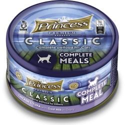 Princess  Clasic Complete Meal  Kurczak Tuńczyk Kozie Mleko 170gr