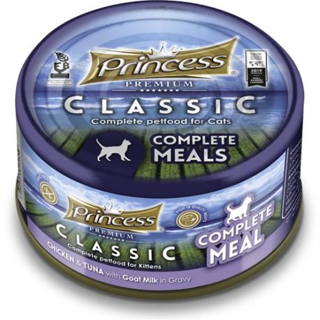 Princess Filety Complete Meal  Kurczkak Tuńczyk Kozie mleko 170gr