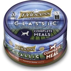 Princess Classic Complete Meal Tuńczyk Pacyficzny, Krewetki Vanamei z tauryną 170g