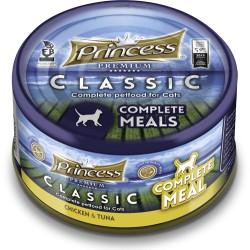 Princess Classic Complete Meal Kurczak, Tuńczyk z tauryną 170g