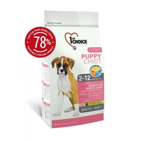 1st Choice Puppy Sensitive Skin & Coat 14 kg