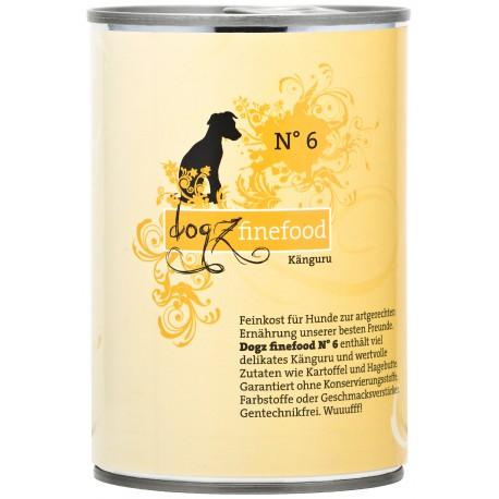 Dogz finefood No.6 kangur 400g