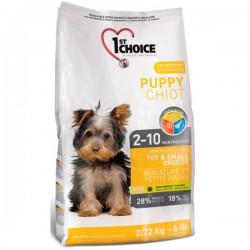 Karma dla szczeniąt  1st Choice Puppy Toy & Small Breeds 2,72kg