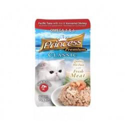 Princess Premium Saszetka  Omega 3&6 piękna skóra i sierść  bez kurczaka 70g