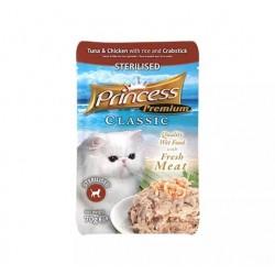 Princess Premium Saszetka  Sterilised  Paluszki krabowe z tauryną  70g