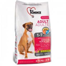 1st choice Hund Adult Sensitive Haut & Mantel 15kg