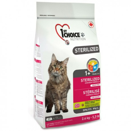 1st Choice Cat Sterilized 2,4kg