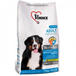1st Choice Dog Adult Medium & Large Breeds 15 kg