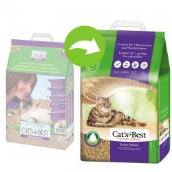 CAT'S BEST SMART PELLETS (Dawniej NATURE GOLD) 10L