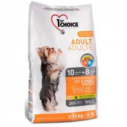 1st choice Hund Adult Spielzeug & Kleine Rassen 7 kg