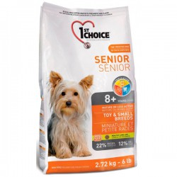 1st Choice Dog Senior Toy & Small Breeds 2,72kg