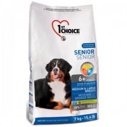 1st choice Hund Senior Mittel- & Großrassen 14 kg