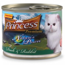 Princess Nature's Power Kaczka Królik 200g