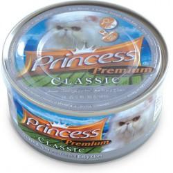 Princess Premium Tuńczyk Kurczak Małże Baby 170g